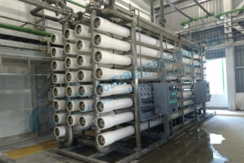 Skid-Mounted Brackish Water Desalination Plant